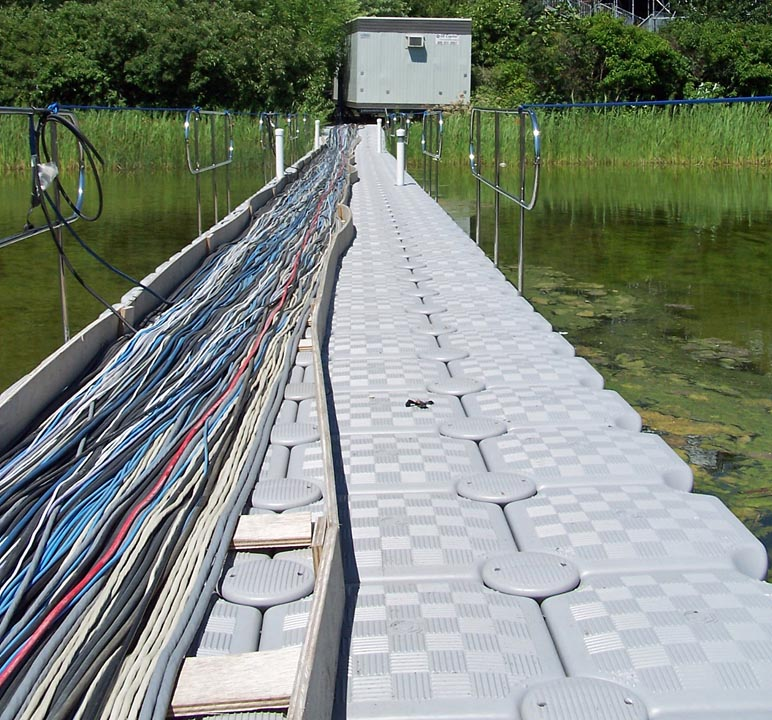 Dockpro walkways carrying cables 6